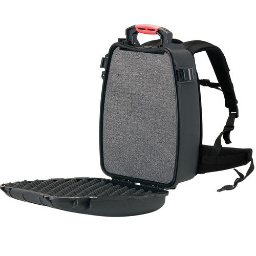 Backpack HPRC3500F Black rigida con Foam