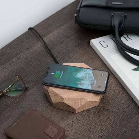 Oak - Wireless Charger