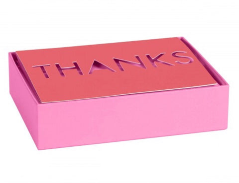 Assorted Boxed Thank You Notes - Brights