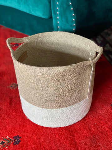 Agora Color Block Basket
