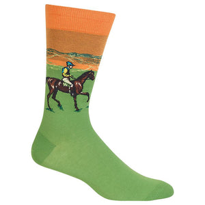 Men's racetrack crew socks