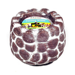 Comfort Shield Citronella Candle in Natural Rock Pot