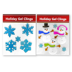 Holiday Gel Stickers