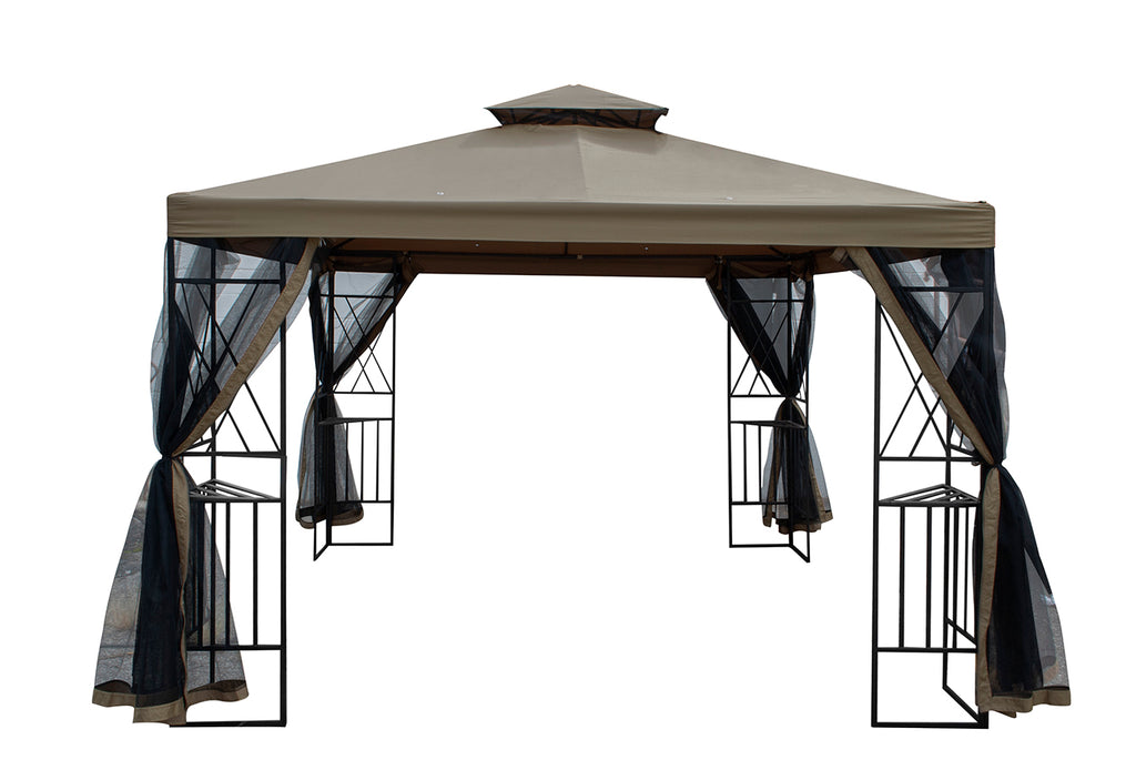 10' x 10' Gazebo with Netting
