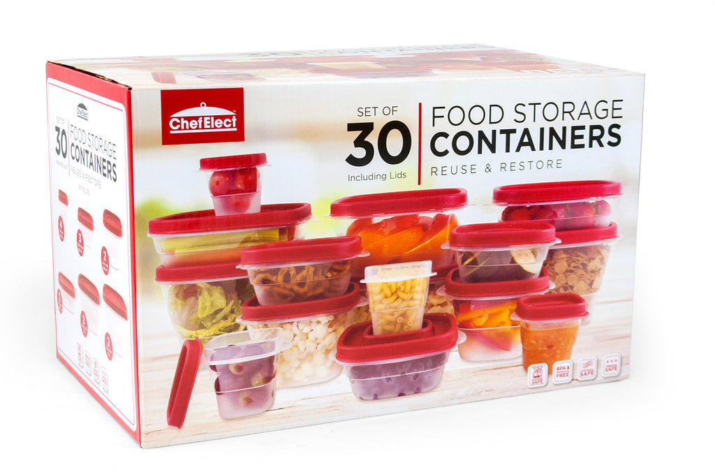 ChefElect 30 piece Food Storage Set
