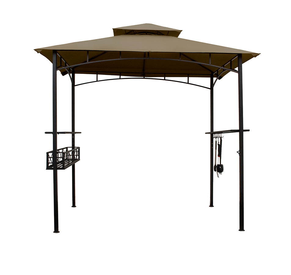 Grill Gazebo with Condiment Basket