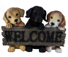 Welcome Dog Trio