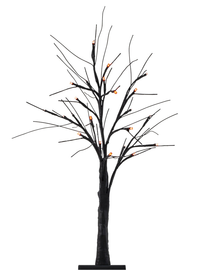 "24"" LED Halloween Black Branch Tree"