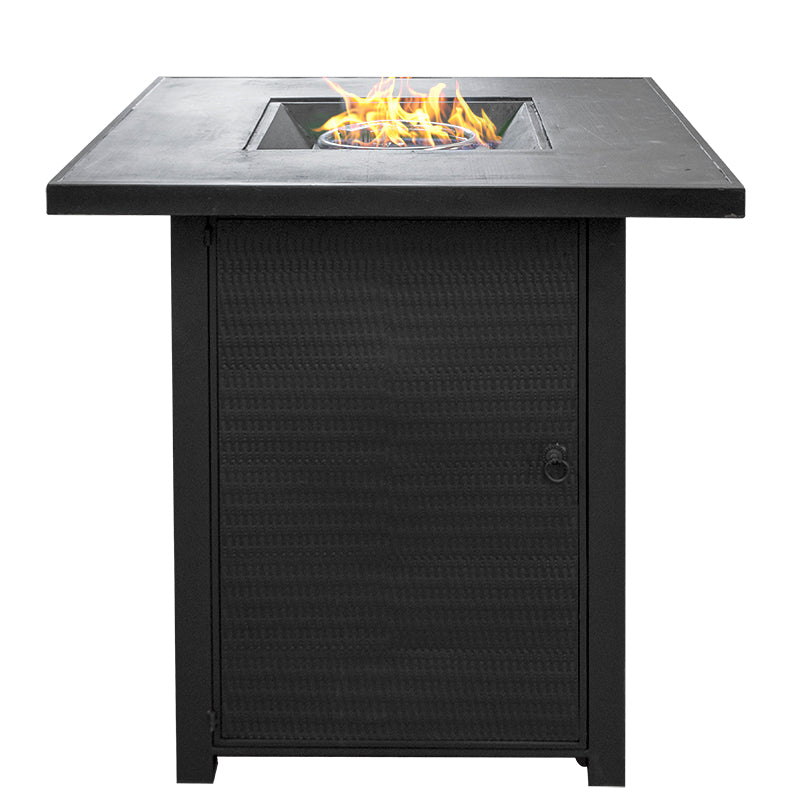 Bar-height Gas Fire Pit