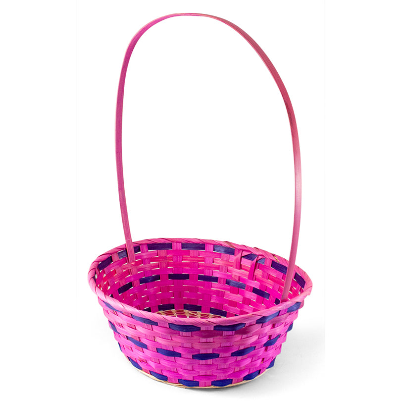 Oval Bamboo Easter Basket