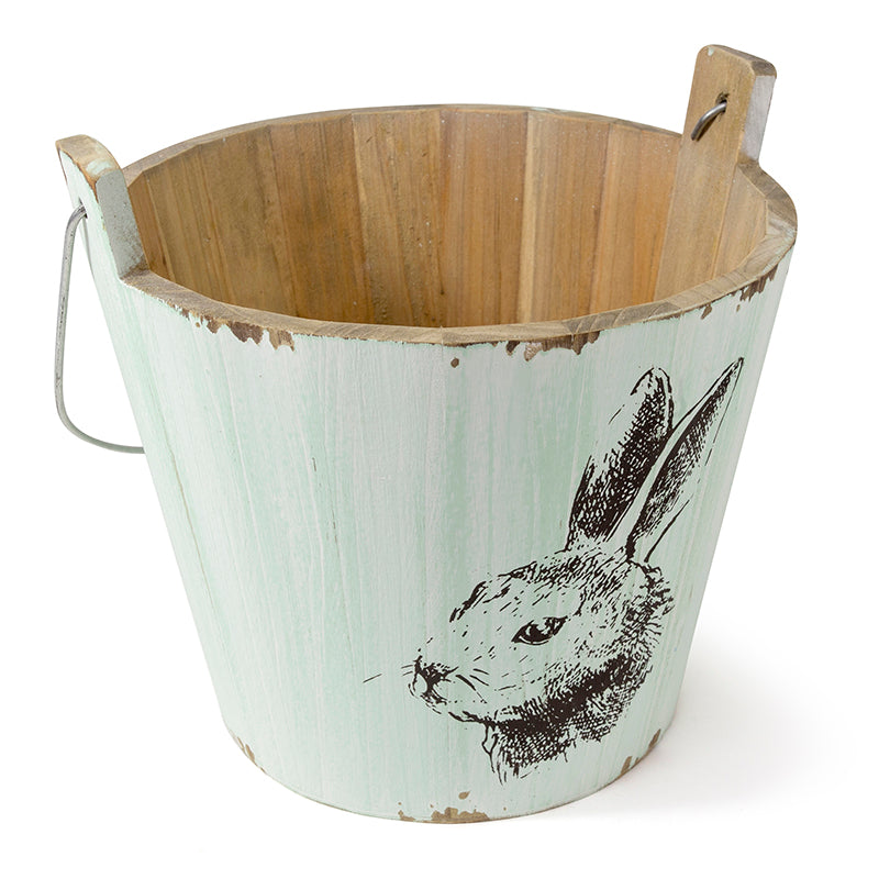 Metal Easter Bucket