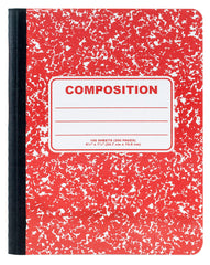 100 Sheets Color Composition Book