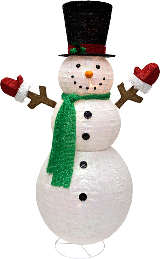 "60"" Lighted Popup Snowman"