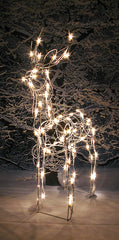 "32"" Lighted Standing Reindeer [buck]"