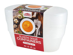 ChefElect 20 pack 16oz Deli Soup Container