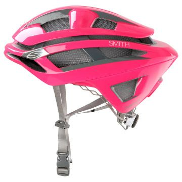 Smith Overtake Pink Road Helmet CLEARANCE SAVE 48%
