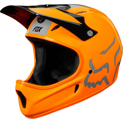 Fox 2019 Rampage Atomic Orange Full Face MTB Helmet
