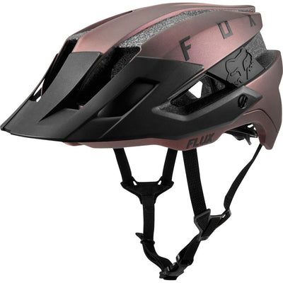 Fox 2019 Flux Black Iridium MTB Trail Helmet