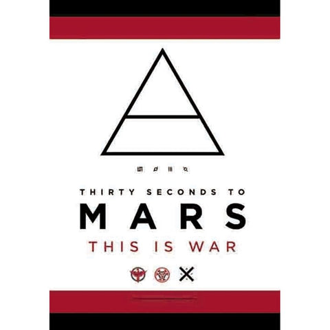 30 Seconds to Mars This is War Fabric Poster