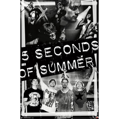 5 Seconds Of Summer Collage Poster