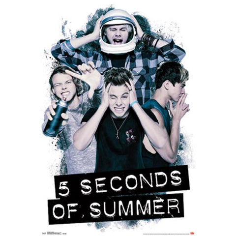 5 Seconds Of Summer Headache Wall Poster
