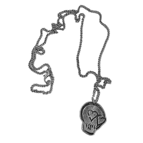 5 Seconds Of Summer Skull necklace