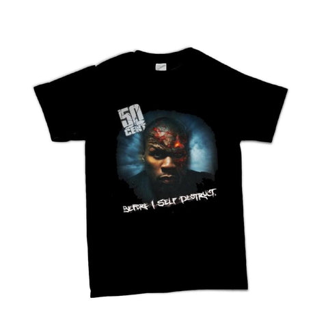 50 Cent Before I Self Destruct Men's T-Shirt