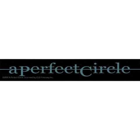 A Perfect Circle Strike Out Strip Sticker