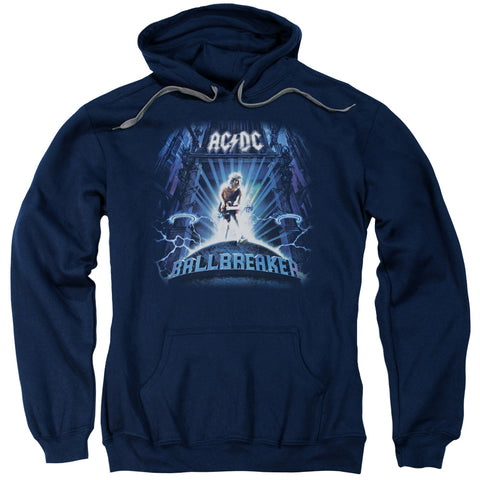 AC/DC Special Order Ballbreaker Men's Pull-Over 75% Cotton 25% Poly Hoodie