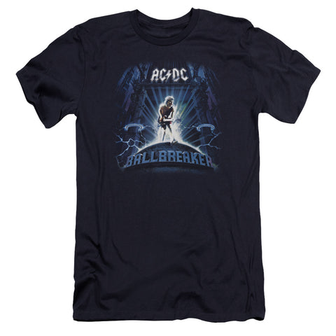 AC/DC Special Order Ballbreaker Men's Premium Ultra-Soft 30/1 100% Cotton Slim Fit T-Shirt - Eco-Friendly - Made In The USA
