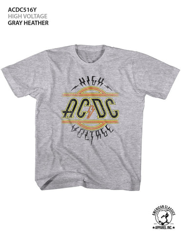 AC/DC Special Order High Voltage Youth S/S T-Shirt