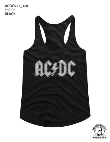 AC/DC Special Order Patch Ladies Racerback
