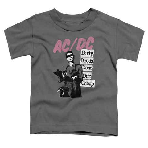 AC/DC Special Order Dirty Deeds Toddler 18/1 100% Cotton Short-Sleeve T-Shirt