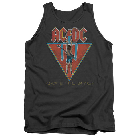 AC/DC Special Order Flick Of The Switch Men's 18/1 100% Cotton Tank Top