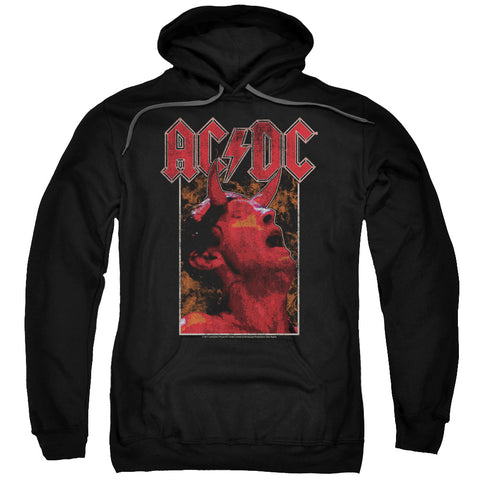 AC/DC Special Order Horns Men's Pull-Over 75% Cotton 25% Poly Hoodie