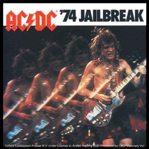 AC/DC Jail Break Sticker