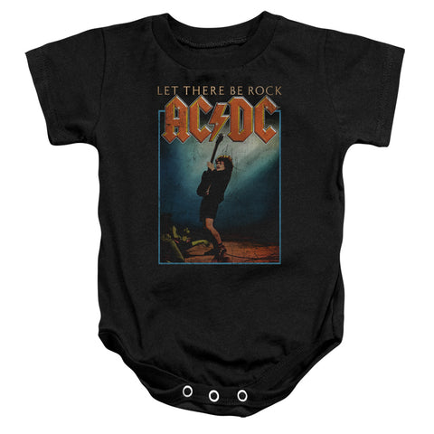AC/DC Special Order Let There Be Rock Infant's 100% Cotton Short-Sleeve Snapsuit