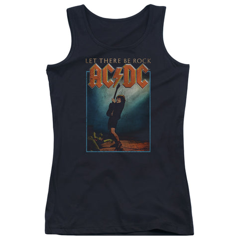 AC/DC Special Order Let There Be Rock Junior's 100% Cotton Tank Top