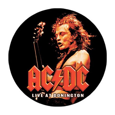 AC/DC Live At Donington Button