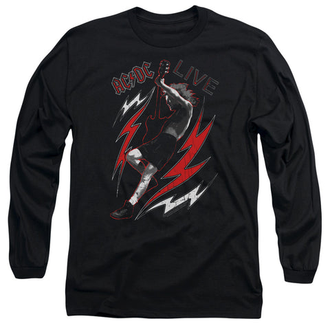 AC/DC Special Order Live Men's 18/1 Long Sleeve 100% Cotton T-Shirt