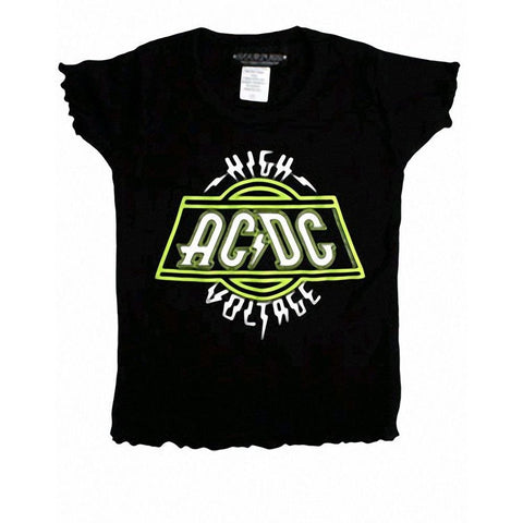 AC/DC Logo Girl's Toddler T-Shirt