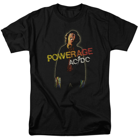 AC/DC Special Order Powerage Men's 18/1 100% Cotton Short-Sleeve T-Shirt