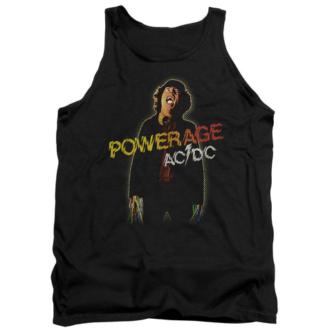 AC/DC Special Order Powerage Men's 18/1 100% Cotton Tank Top