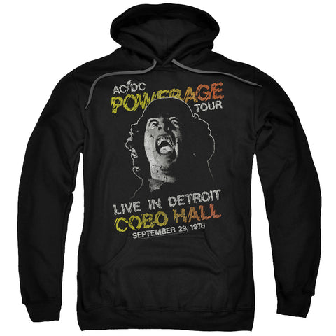 AC/DC Special Order Powerage Tour Men's Pull-Over 75% Cotton 25% Poly Hoodie