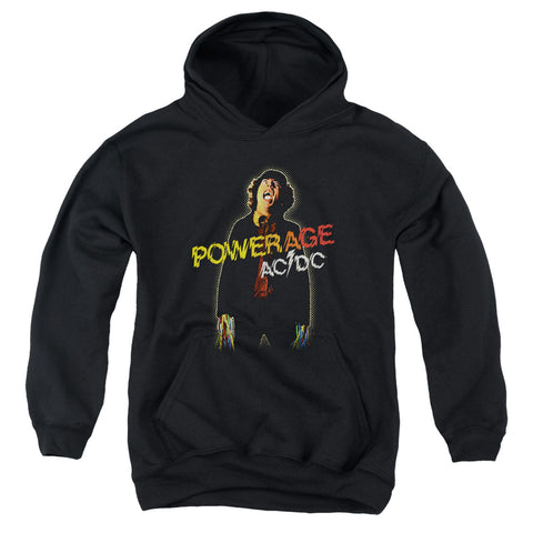 AC/DC Special Order Powerage Youth 50% Cotton 50% Poly Pull-Over Hoodie