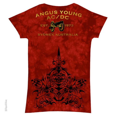 AC/DC Problem Child Women's Long Length T-Shirt