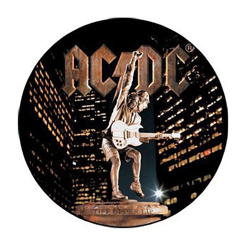 AC/DC Stiff Upper Lip Button