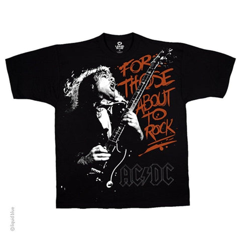 AC/DC Those About To Rock Men's T-shirt