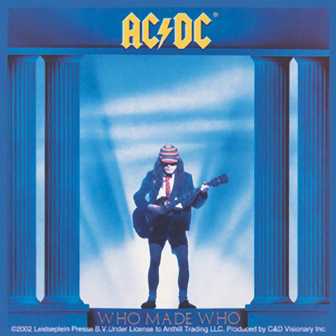 AC/DC Who Made Who Sticker