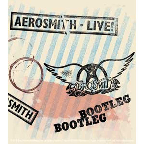 Aerosmith Bootleg Sticker
